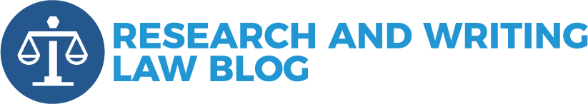 Research and Writing Law Blog